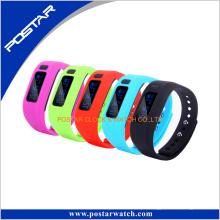 Bracelete colorido do relógio esperto novo de Digitas do tempo