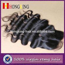 """Vierge Cheveux européens 5 """"X 5"""" Lace Closure"""