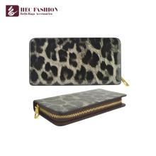 HEC Custom Personalized Pattern Wallets Monedero de teléfono para mujer