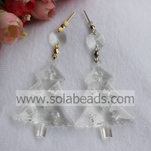 10*44*62MM Plastic Crystal Christmas Tree Chandelier Decor