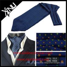 Hochwertige Seide gedruckt Herren Krawatte Camo Ascot