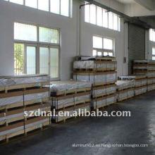 Placa de techo de aluminio