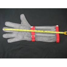 Long-Sleeve Chain Mail Protective Anti-Cut Glove