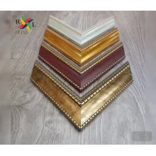 Golden color polystyrene moulding for photo frame mirror frame