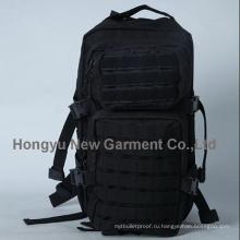 Высокое качество черный военный рюкзак ноутбук сумки с 900d (HY-B066)