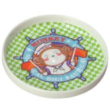 Coaster das crianças das bolachas dos utensílios de mesa da melamina (BG027)