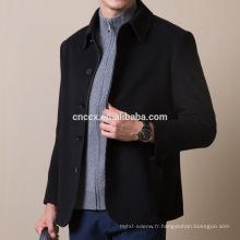 16STC8192 Manteau d'hiver en cachemire pour homme