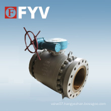 Forged Steel Trunnion Mounted API 6D Ball Valves