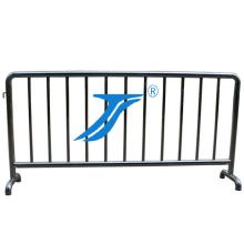 Temporärer Zaun der Straßen-Barrieren, städtischer Zaun