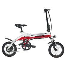 Vélo pliant électrique de 14 pouces