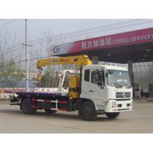 DFAC Tianjin Wrecker Truck With Crane 6T