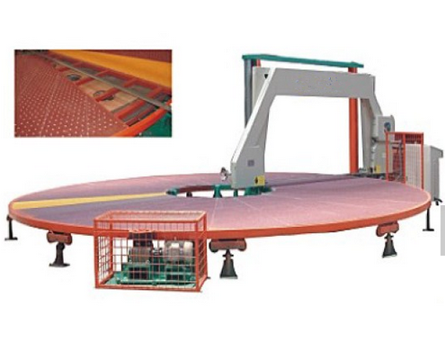 Circle Sponge Cutting Machine