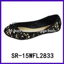 2015 плоские туфли дамы ужин обувь леди комфорт обувь испанский обувь