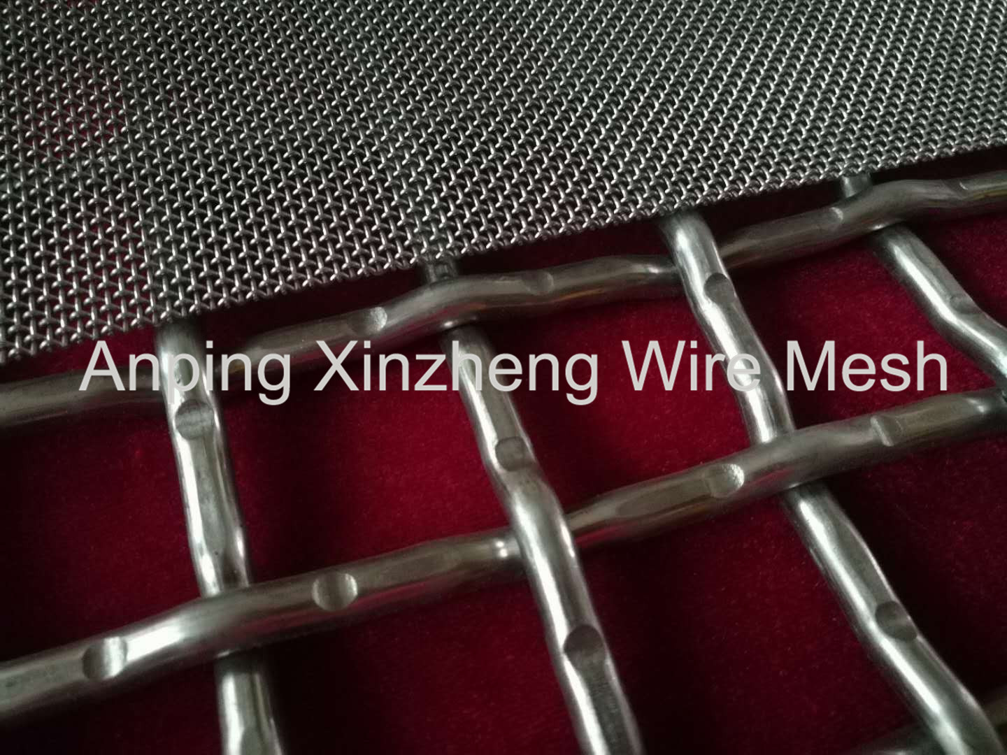 Crimped Knitted Mesh