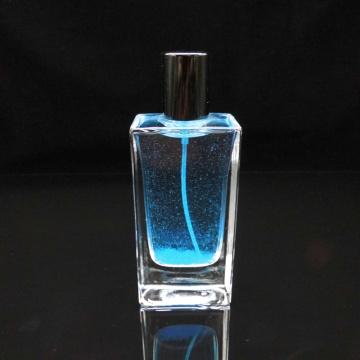 Parfümglas leere Flaschen flache quadratische Kosmetikflaschen