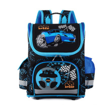 Grade 1 to Grade 5 Kids SchoolBag Cute EVA Car Printing School Bag Hard Shell Children School Backpack