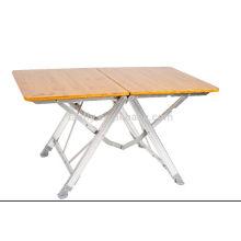 China fabricante picnic al aire libre portable plegable mesa de comedor
