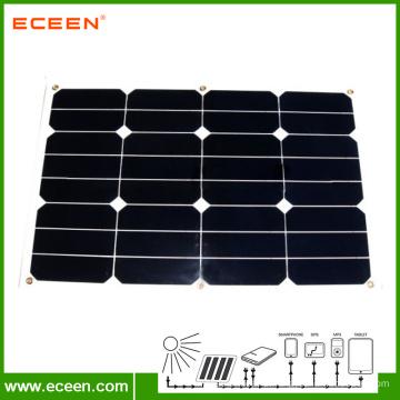 Горячая продавая солнечная панель солнечной энергии 30W semi гибкая для RV морская европейская