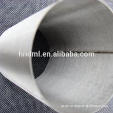 Malla de filtro de fieltro de fibra no tejida sinterizada de acero inoxidable de 5 micrones