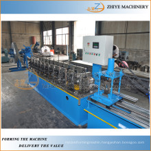 iron door making machine price/iron rolling door slat rolling line/Iron roller shutter door slat forming machine manufacturer