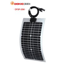 Dokio Flexible Solar Panel 20W Mono
