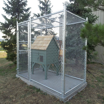 Chain Link Wire Mesh Pagar Cage