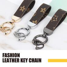 Кожаная модная цепочка для ключей на заказ