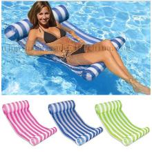 Rede de flutuação dobrável do sofá-cama da água da piscina do PVC do OEM