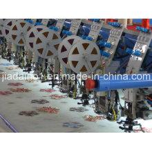Máquina de bordado de lentejuelas y doble costura