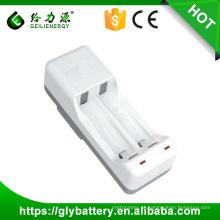 Carregador de bateria de lítio-ion GLE-701 para 18650 cilíndrico