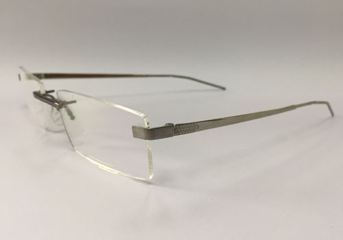 Liquid Metal Rimless Spectacles / New Material Eyewear