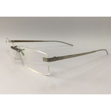 Liquid Metal Rimless Spectacles/New Material Eyewear