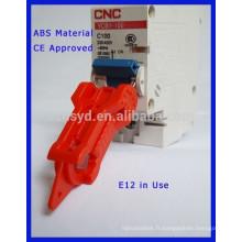 Pour verrouillage de sécurité de l'espace de disjoncteur de conception de 20 mm avec marquage CE