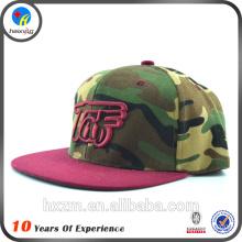 camouflage snapback cap with logo