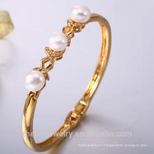 Bracelet de haute qualité bracelet 24k or perle bracelet en gros accessoires