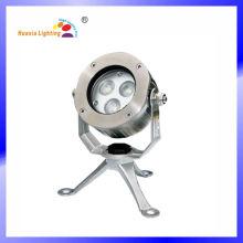 Associação subaquática subaquática da luz do diodo emissor de luz de 3W RGB, lâmpada subaquática