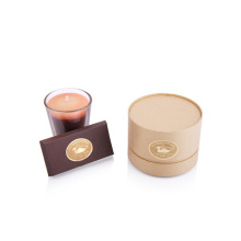 Custom Tube Packaging Round Cardboard Candle Box