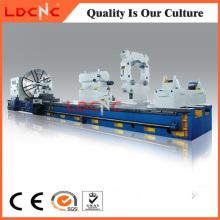 C61160 Máquina manual de la máquina del torno del rodillo del metal de la precisión manual pesada