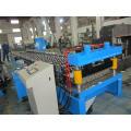 Galvanisierte Stahl gewölbte Dach-Blatt-kalte Rolle, die Maschine mit PLC Panasonic bildet