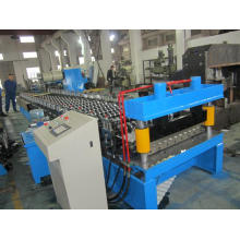 Galvanized Steel Corrugated Roof Sheet Cold Roll Forming Machine with PLC Panasonic
