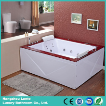Bañera de acrílico popular popular del agua de agua (TLP-666-falda de acrílico)