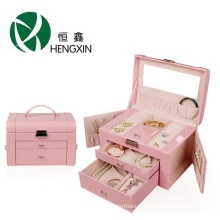 Jewelry Box with Large Capacity with Draws for Storage