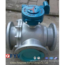 Three Way Full /Reduced Bore T/L Port Ball Valve