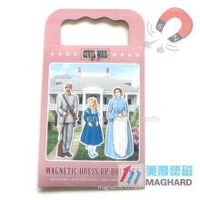 Магнитные DIY игрушки магнитные одеваются