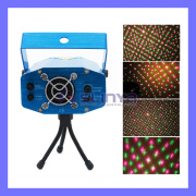 110V~240V Red & Green Meteor Laser Stage Lighting Mini Laser Projector for Party DJ Disco
