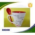 good quality customized ceramic mug with any color
