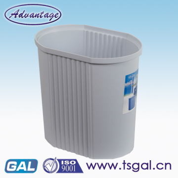 PP plastic without lid office trash bin
