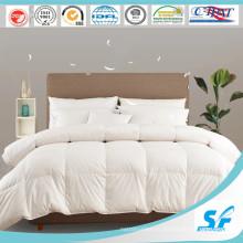 Белое пуховое одеяло из 100% чистого хлопка