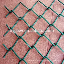 Treillis métallique de losange / clôture galvanisée de maillon de chaîne