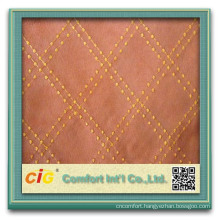 Fashion Popular Plain Embroider Designs polyester microfiber fabric for Sofa
